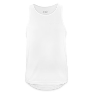 HUDGE PRO WHITE - Männer Tank Top atmungsaktiv