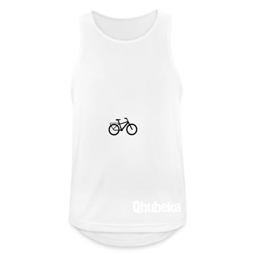 BCL Shirt Back White - Men's Breathable Tank Top