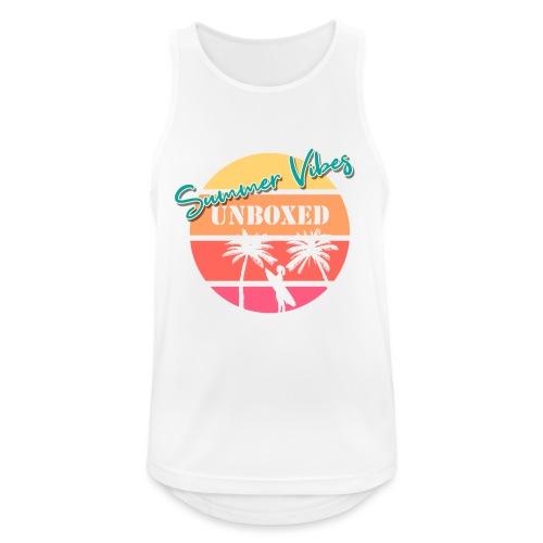 Summer Vibes UNBOXED - Männer Tank Top atmungsaktiv
