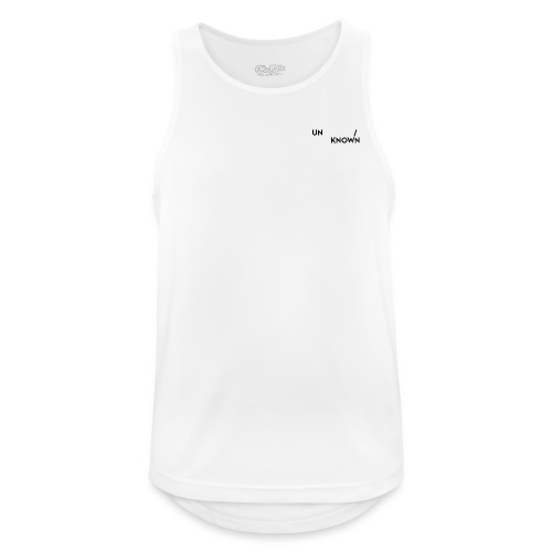 TSCHNIK | Known/Unknown - Men's Breathable Tank Top