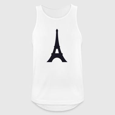 tour Eiffel - Débardeur respirant Homme