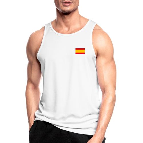 Bandera España - Camiseta sin mangas hombre transpirable