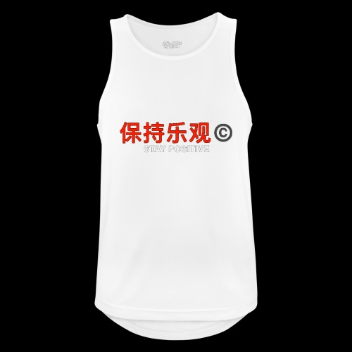 Stay Positive - Men's Breathable Tank Top