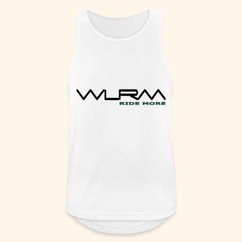 WLRM Schriftzug black png - Männer Tank Top atmungsaktiv