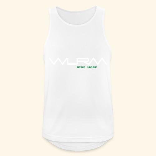WLRM Schriftzug white png - Männer Tank Top atmungsaktiv
