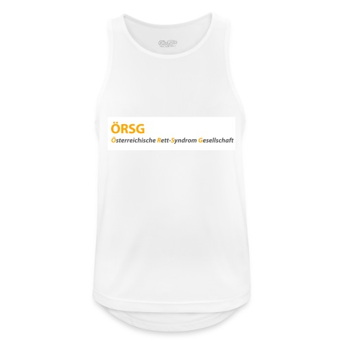 Text-Logo der ÖRSG - Rett Syndrom Österreich - Männer Tank Top atmungsaktiv