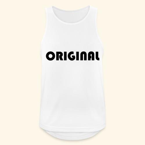 Original - Camiseta sin mangas hombre transpirable