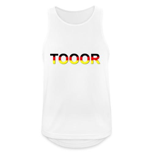 TOOOR-Schatten-transparen - Männer Tank Top atmungsaktiv