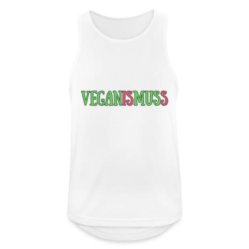 veganismuss - Männer Tank Top atmungsaktiv