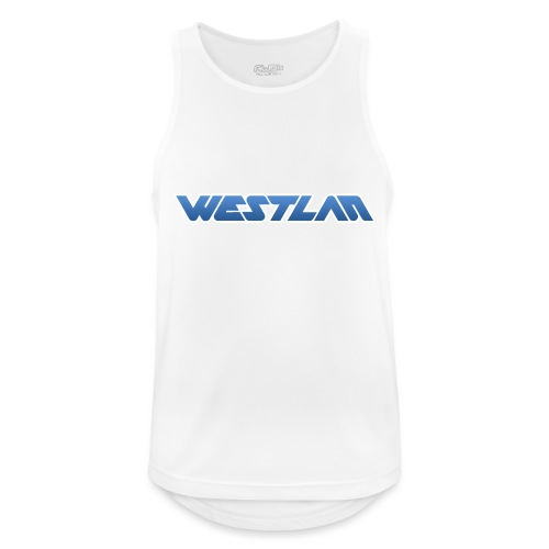 WestLAN Logo - Men's Breathable Tank Top