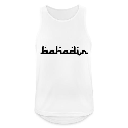 bahadir logo1 png - Männer Tank Top atmungsaktiv