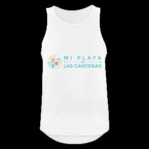 Mi playa de Las Canteras - Camiseta sin mangas hombre transpirable