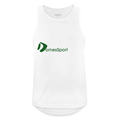 Logo DomesSport Green noBg - Männer Tank Top atmungsaktiv