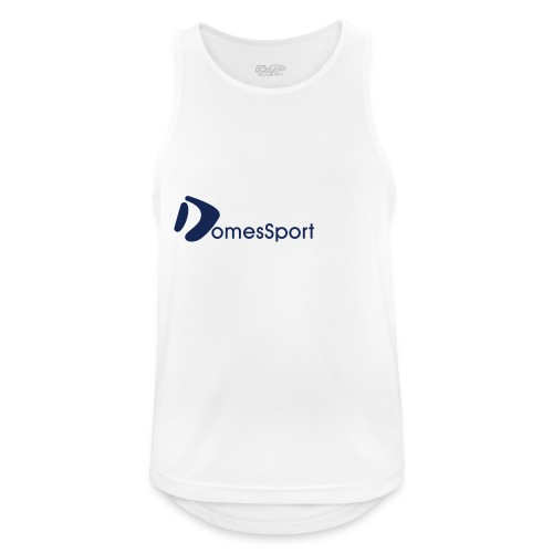 Logo DomesSport Blue noBg - Männer Tank Top atmungsaktiv