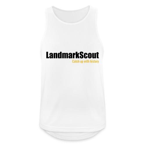 Tshirt White Back logo 2013 png - Men's Breathable Tank Top