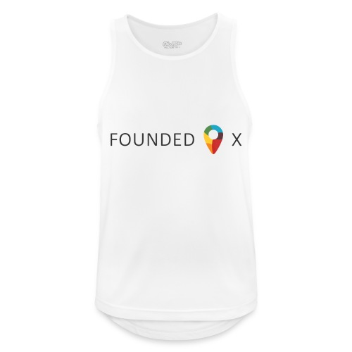 FoundedX logo png - Men's Breathable Tank Top