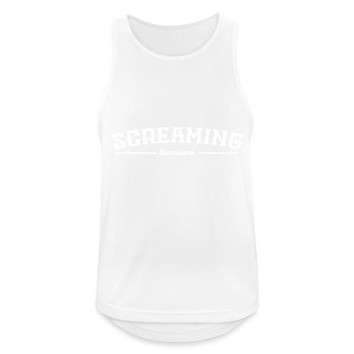 SCREAMING - Camiseta sin mangas hombre transpirable