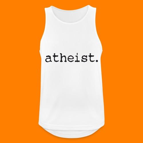 atheist BLACK - Men's Breathable Tank Top