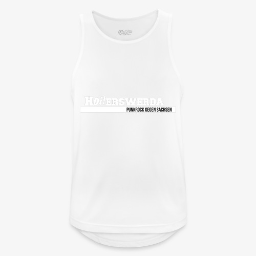 Logo Hoierswerda transparent - Männer Tank Top atmungsaktiv