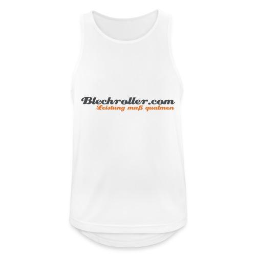 blechroller logo - Männer Tank Top atmungsaktiv