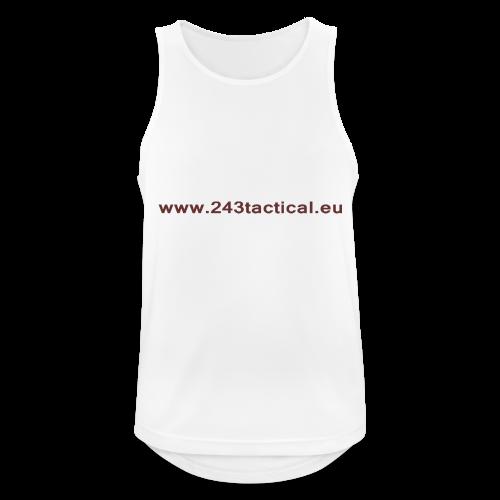 .243 Tactical Website - Mannen tanktop ademend
