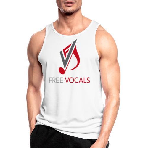 Free Vocals - Männer Tank Top atmungsaktiv