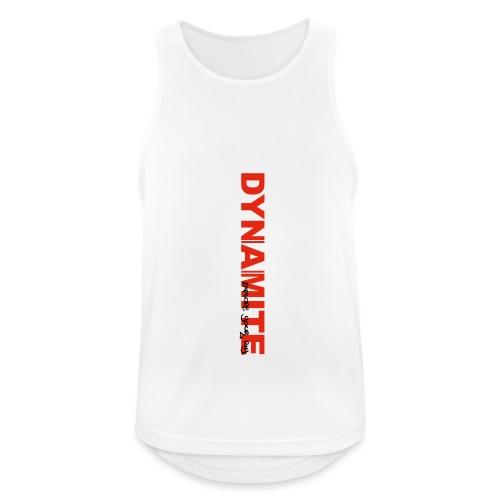 DYNAMITE - Explode your day! - Andningsaktiv tanktopp herr