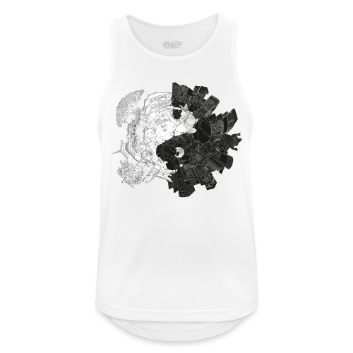 New Yin Old Yang - Men's Breathable Tank Top