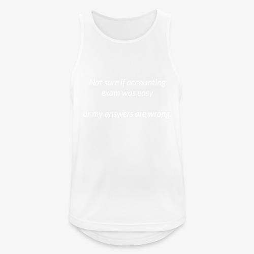 Easy Exam - Men's Breathable Tank Top