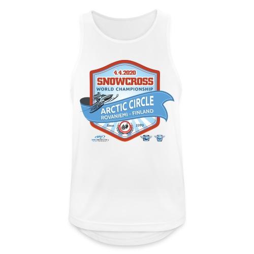 MM Snowcross 2020 virallinen fanituote - Miesten tekninen tankkitoppi
