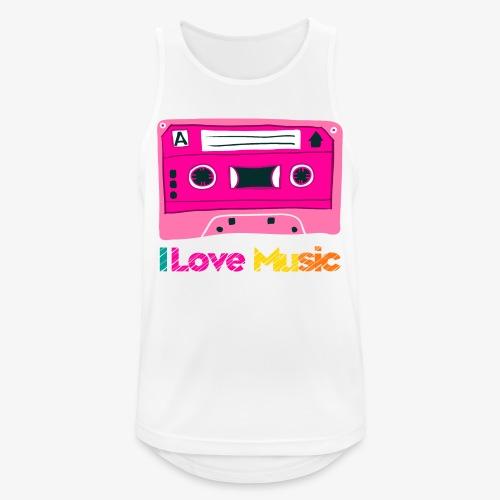Cinta 3 - Camiseta sin mangas hombre transpirable