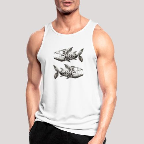 FishEtching - Men's Breathable Tank Top
