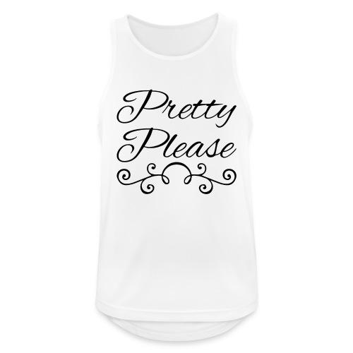 Pretty Please - Men's Breathable Tank Top