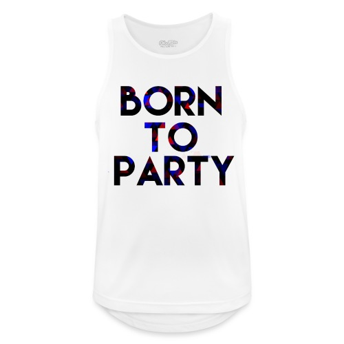 Born to Party - Men's Breathable Tank Top
