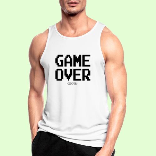 Game Over - Männer Tank Top atmungsaktiv