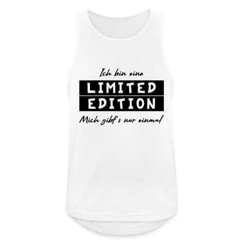 ich bin eine limit edition - Männer Tank Top atmungsaktiv