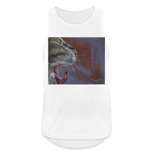 Katze - Männer Tank Top atmungsaktiv