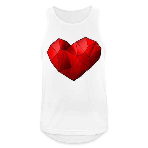 Heartart - Men's Breathable Tank Top