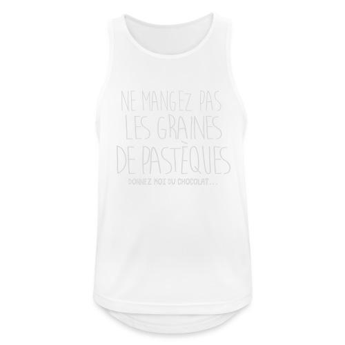 Tshirt-Femme-Enceinte-B - Débardeur respirant Homme