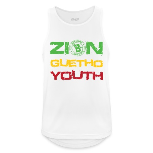 Zion Guetho Youth - Camiseta sin mangas hombre transpirable