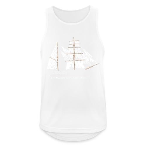 EZS T shirt 2013 Back - Mannen tanktop ademend actief