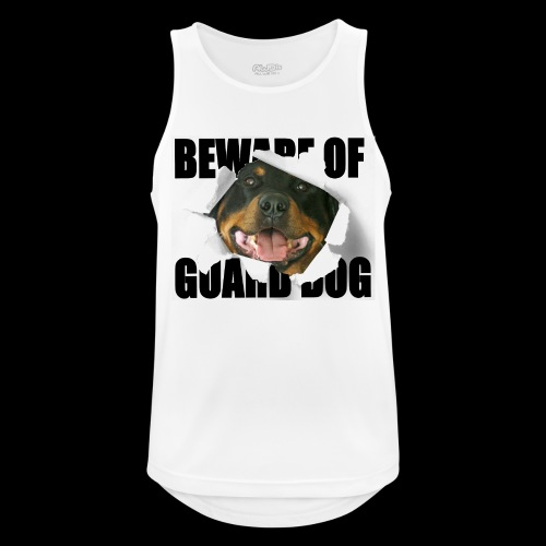 beware of guard dog - Men's Breathable Tank Top