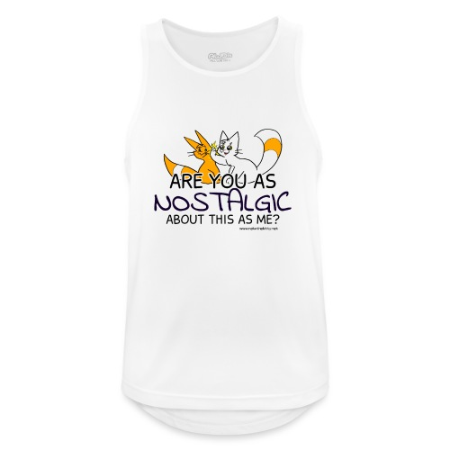 Nostalgia Hurts - Men's Breathable Tank Top