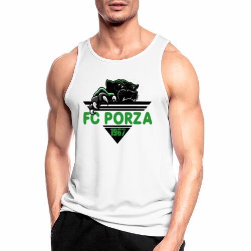 FC Porza 1 - Männer Tank Top atmungsaktiv