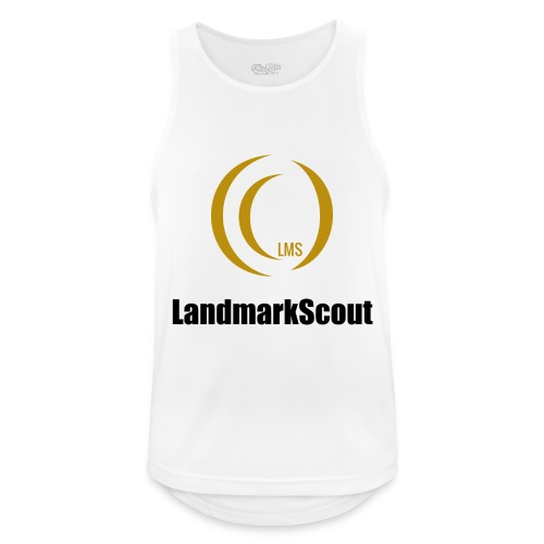 Tshirt Yellow Front logo 2013 png - Men's Breathable Tank Top