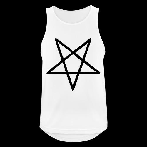 Pentagram2 png - Männer Tank Top atmungsaktiv