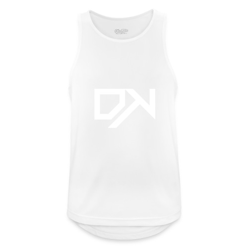 DewKee Logo Shirt Black - Men's Breathable Tank Top
