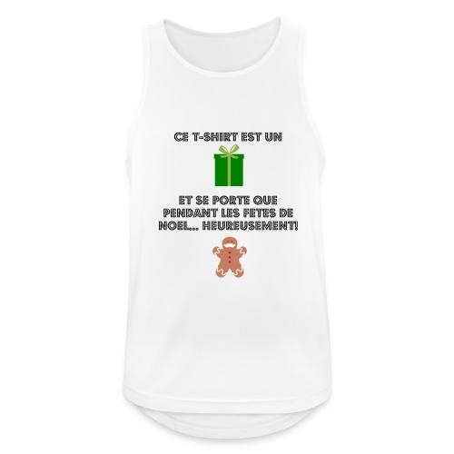 T-shirt cadeau de Noël - Débardeur respirant Homme