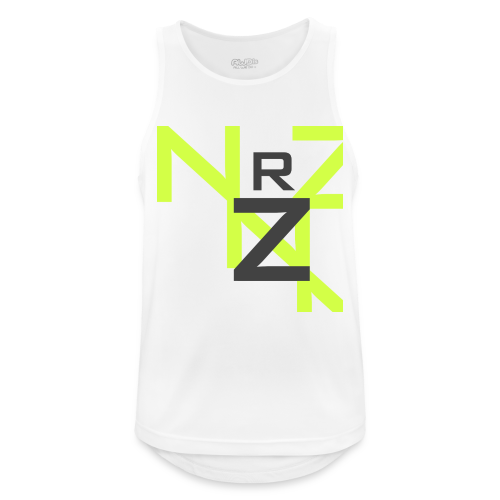 Nörthstat Group™ Clear Transparent Main Logo - Men's Breathable Tank Top