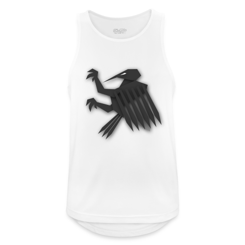 Nörthstat Group ™ Black Alaeagle - Men's Breathable Tank Top
